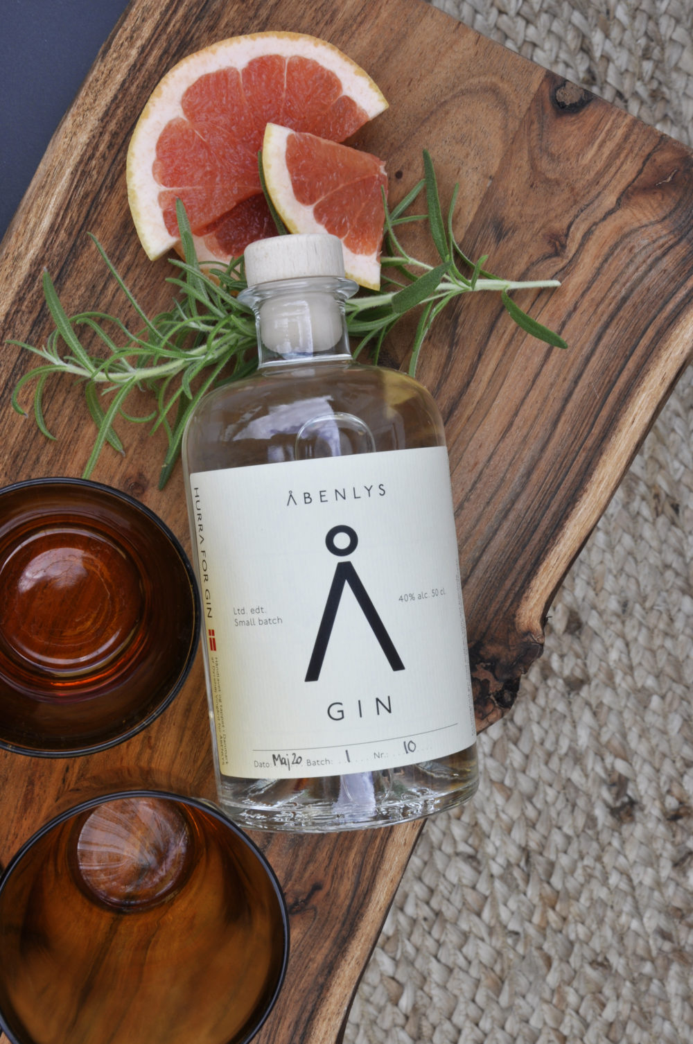 Åbenlys Gin Limited edition – Hurra for gin